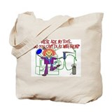 Unique Respiratory therapist Tote Bag