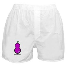 Cute Eggplants Boxer Shorts