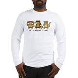 3 MONKEYS Long Sleeve T-Shirt