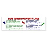Skye Terrier Property Laws 2 Bumper Bumper Sticker