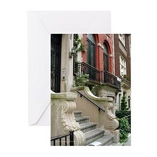 Row House in NYC Greeting Cards (Pk of 20)