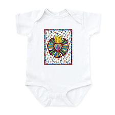 Guadalupe Red Milagro Infant Bodysuit
