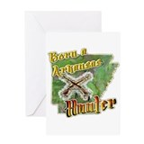 Arkansas hunting pride gifts Greeting Card