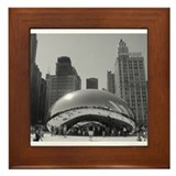 Bean, Chicago Framed Tile