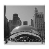 Bean, Chicago Tile Coaster