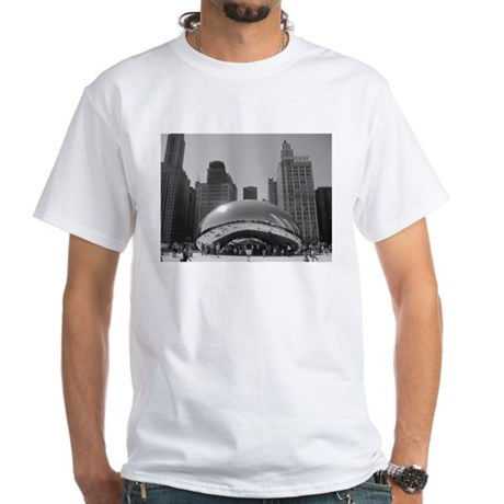 Bean, Chicago White T-Shirt