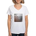 Iron (Fe) Women's V-Neck T-Shirt