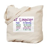 Cute Respiratory Tote Bag