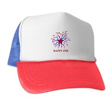 Cute Independence day fireworks Trucker Hat