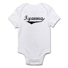 Iyanna Vintage (Black) Infant Bodysuit