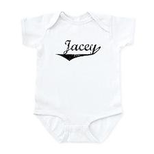 Jacey Vintage (Black) Infant Bodysuit