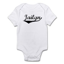 Jailyn Vintage (Black) Infant Bodysuit
