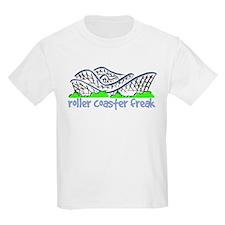 """Roller Coaster Freak"" Kids T-Shirt"
