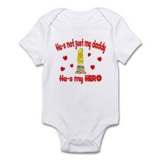 Not just my daddy (hearts) Infant Bodysuit