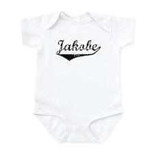 Jakobe Vintage (Black) Infant Bodysuit