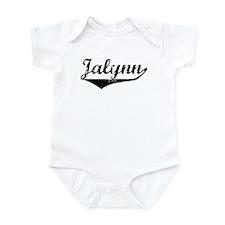 Jalynn Vintage (Black) Infant Bodysuit