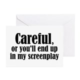 Careful... screenplay - Greeting Cards (Pk of 10)