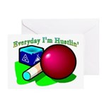 Hustle Everyday Greeting Card