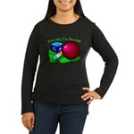 Hustle Everyday Women's Long Sleeve Dark T-Shirt