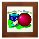 Hustle Everyday Framed Tile