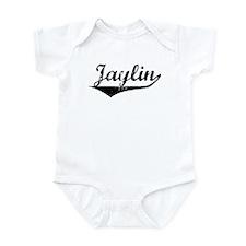 Jaylin Vintage (Black) Infant Bodysuit
