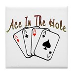 Ace Hole Tile Coaster
