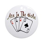 Ace Hole Ornament (Round)