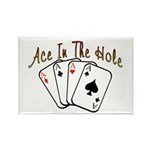 Ace Hole Rectangle Magnet (100 pack)