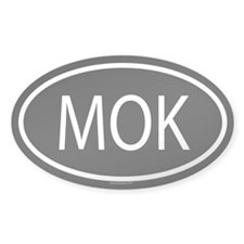 MOK Oval Decal