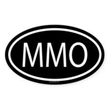 MMO Oval Decal
