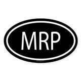 MRP Oval Decal