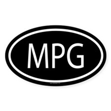MPG Oval Decal