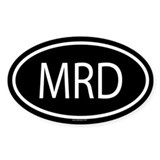 MRD Oval Decal