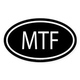 MTF Oval Decal
