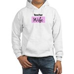 Teacher Wife Hooded Sweatshirt