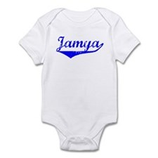 Jamya Vintage (Blue) Infant Bodysuit