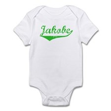 Jakobe Vintage (Green) Infant Bodysuit