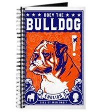 Obey the English Bulldog! Propaganda Journal