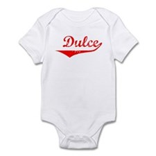 Dulce Vintage (Red) Infant Bodysuit