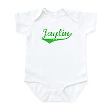 Jaylin Vintage (Green) Infant Bodysuit