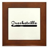 Crochetville Framed Tile