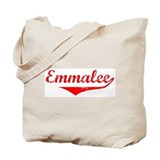 Emmalee Vintage (Red) Tote Bag