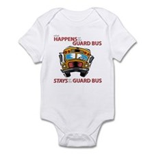 What Happens on the Guard Bus Infant Bodysuit