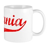 Estefania Vintage (Red) Small Mug