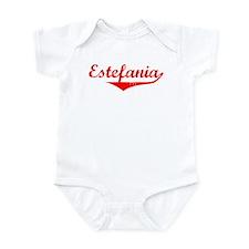 Estefania Vintage (Red) Onesie