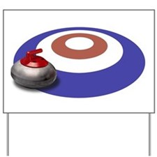 CURLING Yard Sign