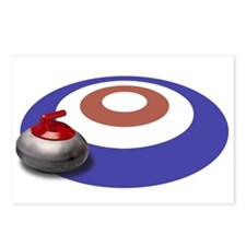 CURLING Postcards (Package of 8)