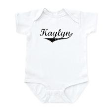 Kaylyn Vintage (Black) Infant Bodysuit