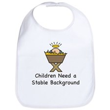 STABLE BACKGROUND Bib