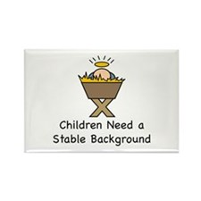 STABLE BACKGROUND Rectangle Magnet (10 pack)